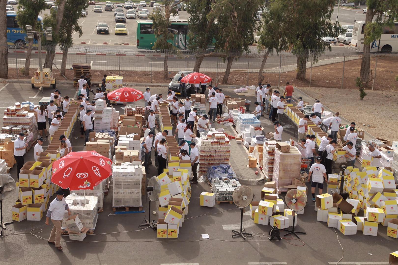 אריזת מזון לנזקקים