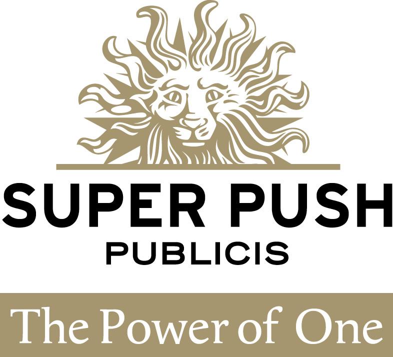 Partnership Company Logo Superpush